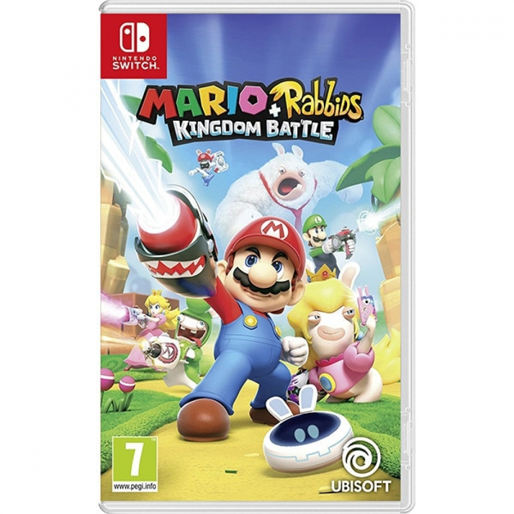 Joc Mario + Rabbids Kingdom Battle pentru Nintendo Switch imagine