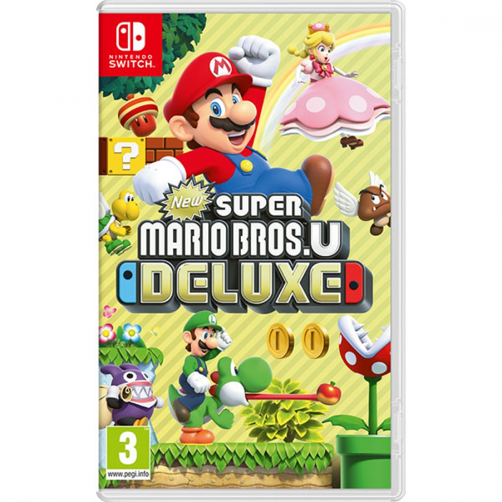 Joc New Super Mario Bros U Deluxe pentru Nintendo Switch imagine
