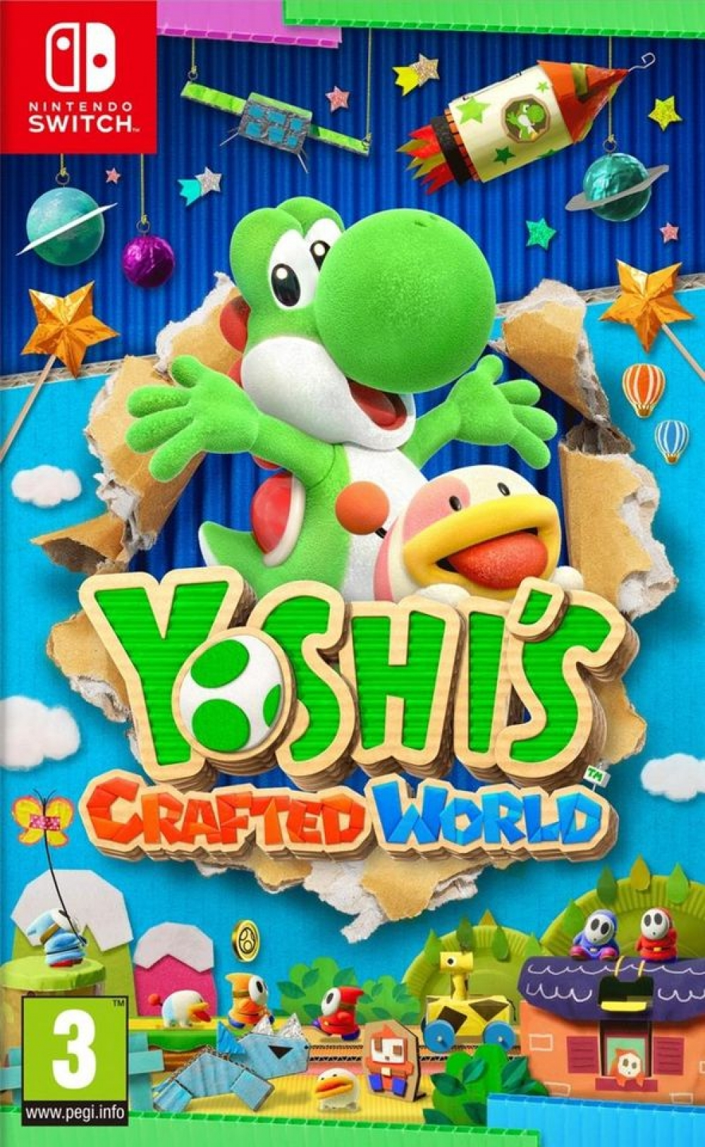 Joc Yoshis Crafted World pentru Nintendo Switch imagine