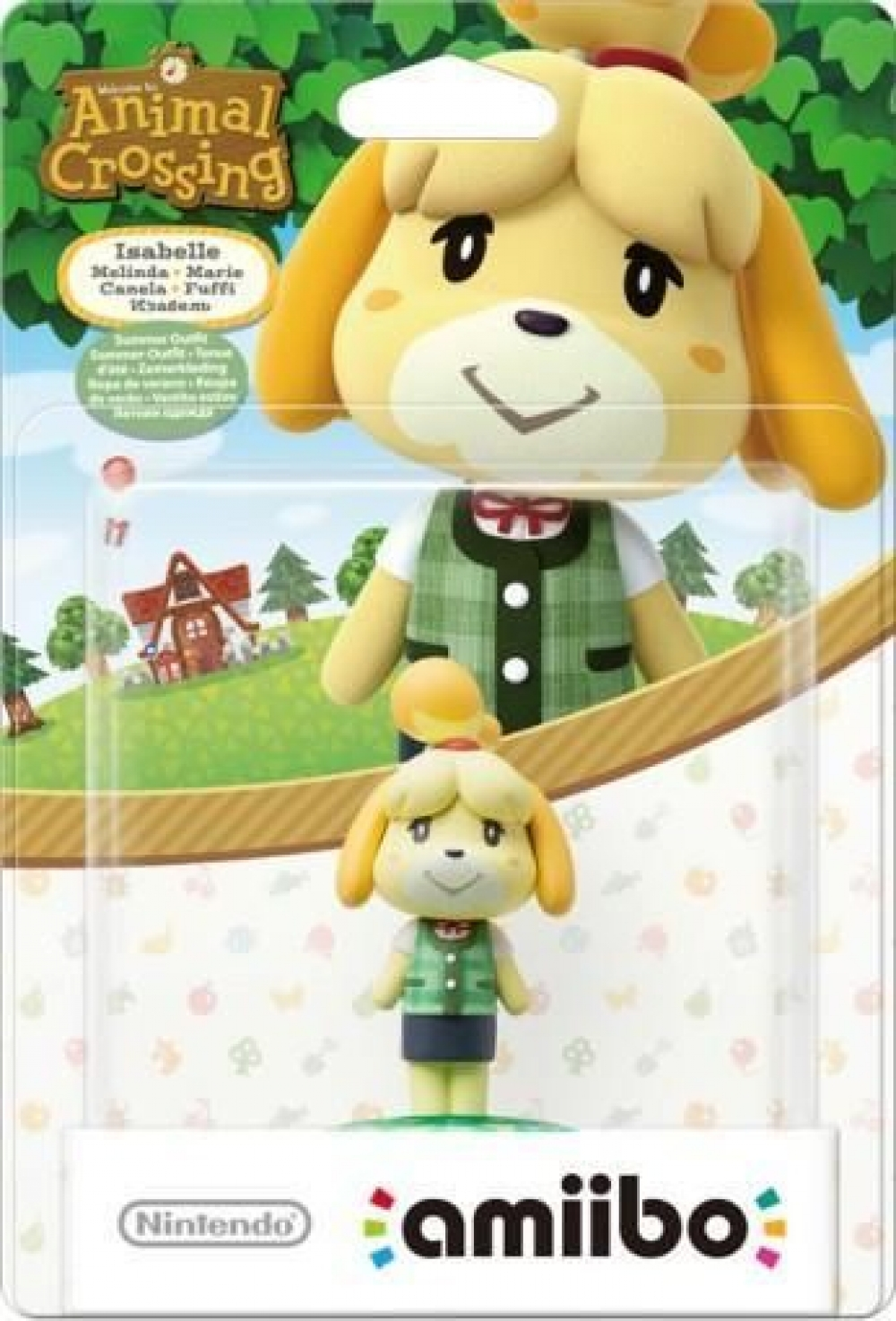 Figurina Amiibo Isabelle Summer Outfit (Animal Crossing) imagine