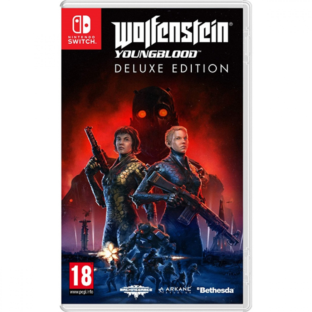 Joc Wolfenstein Youngblood Deluxe pentru Nintendo Switch imagine