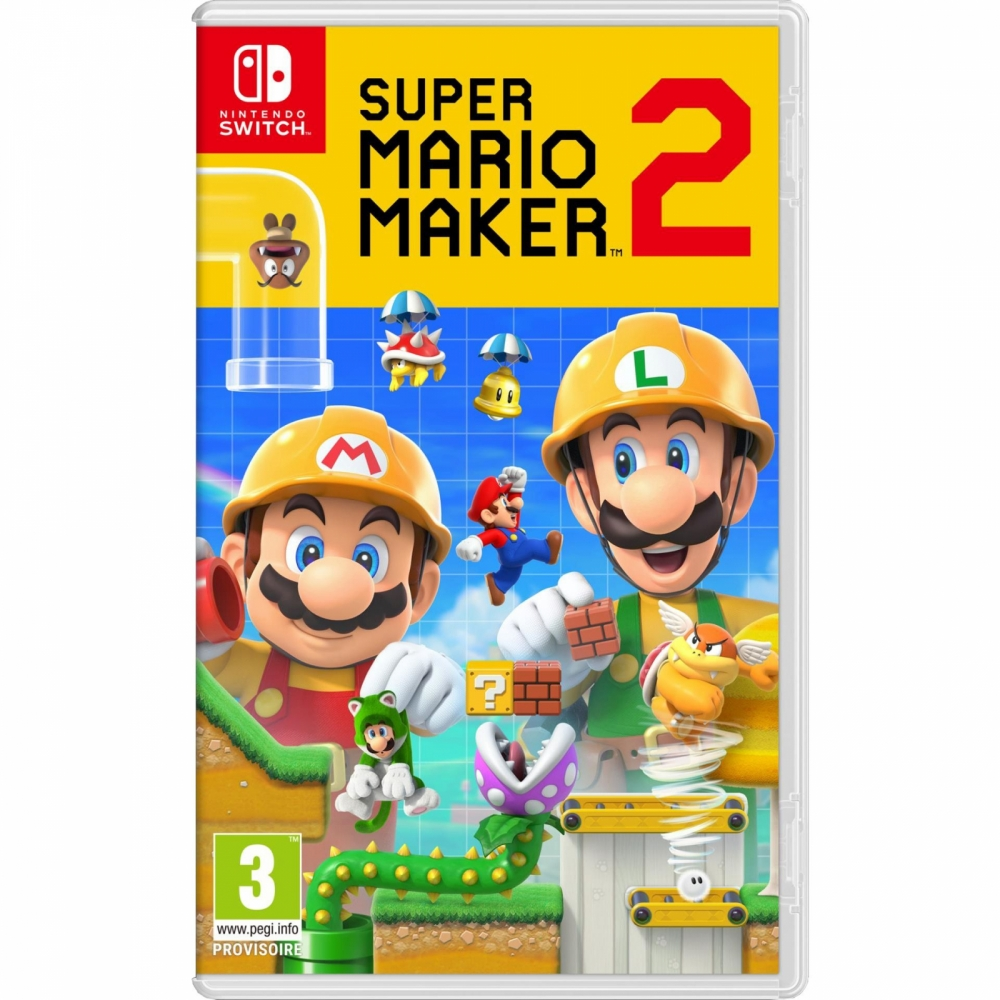 Joc Super Mario Maker 2 pentru Nintendo Switch imagine