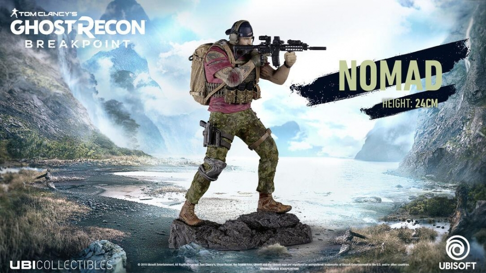 Figurina Ghost Recon Breakpoint Nomad