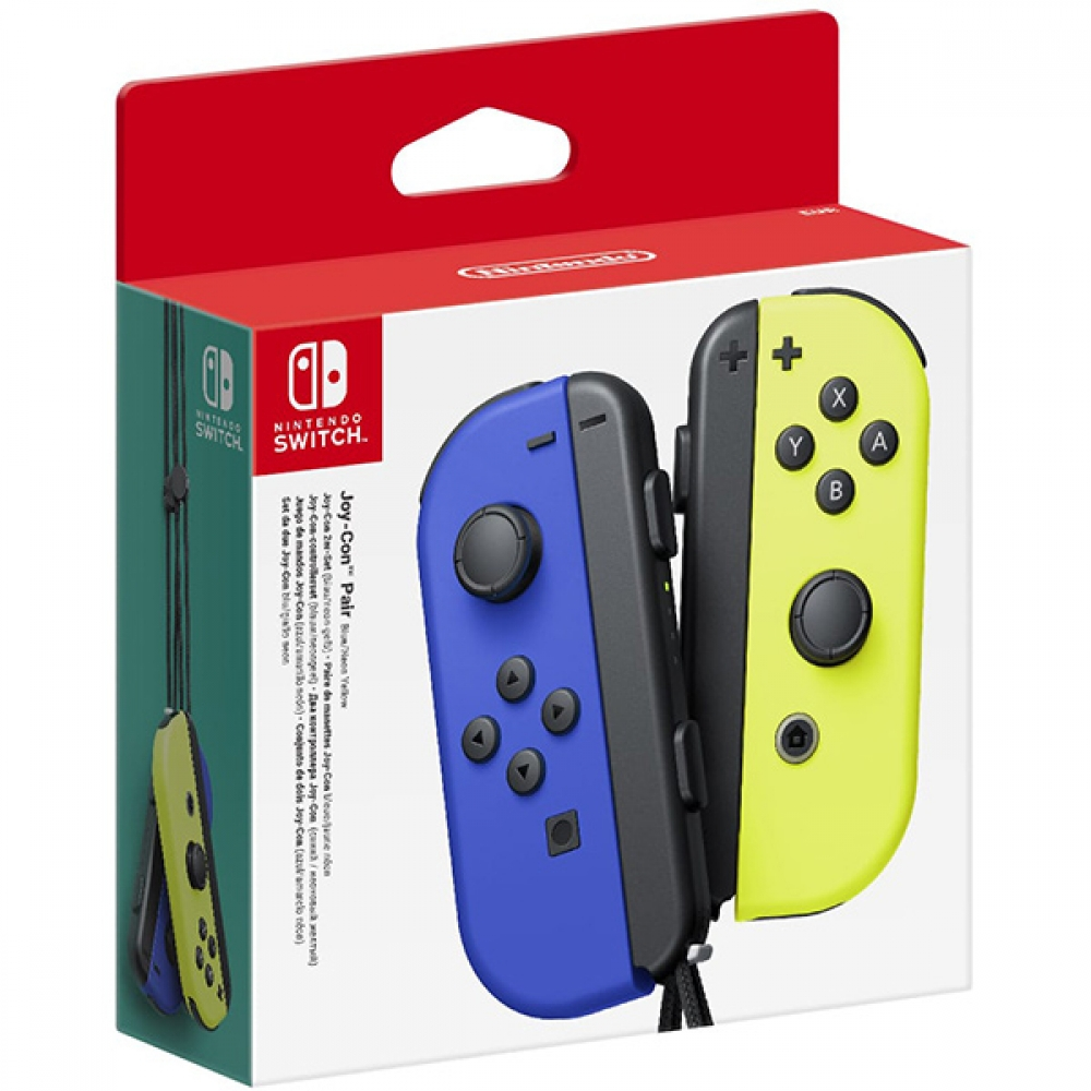 Nintendo Switch Joy-con Pair Neon Blue & Neon Yellow