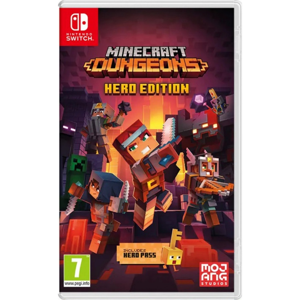 Joc Minecraft Dungeons pentru Nintendo Switch imagine