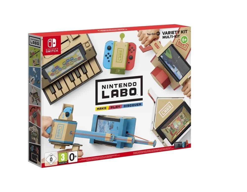 Joc Nintendo Labo Toy-con 01 Variety Kit pentru Nintendo Switch imagine