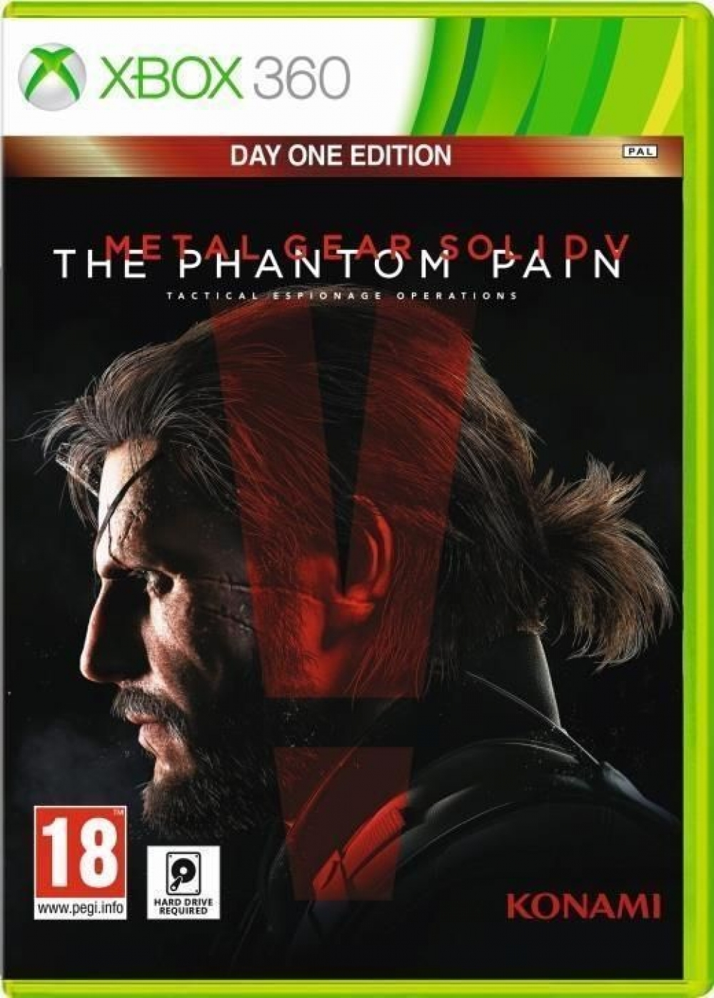 Joc Metal Gear Solid 5 The Phantom Pain D1 Edition pentru Xbox 360 imagine
