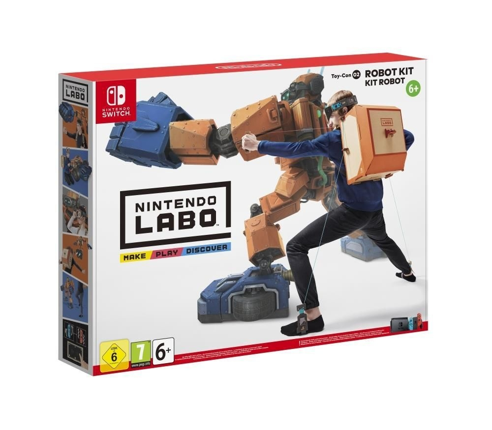 Joc Nintendo Labo Toy-con 02 Robot Kit pentru Nintendo Switch imagine