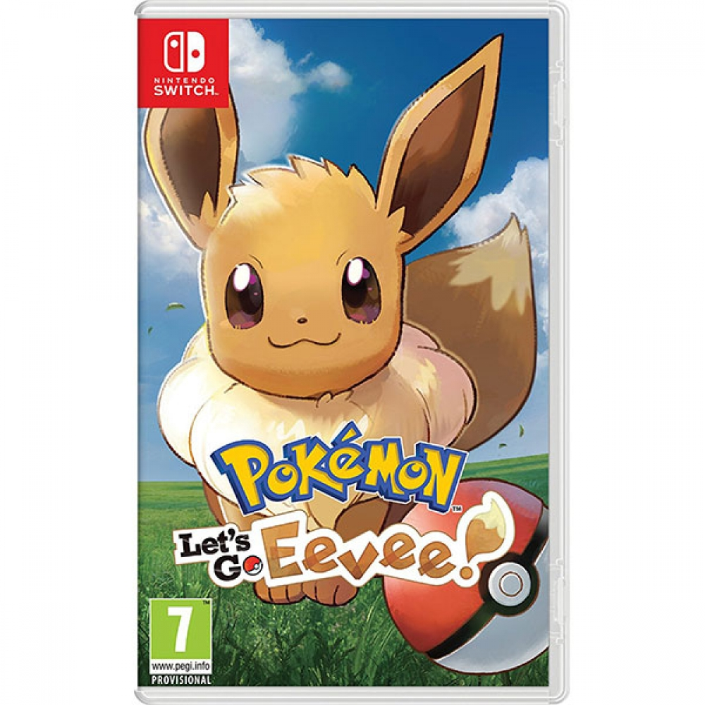 Joc Pokemon Lets Go Eevee pentru Nintendo Switch imagine
