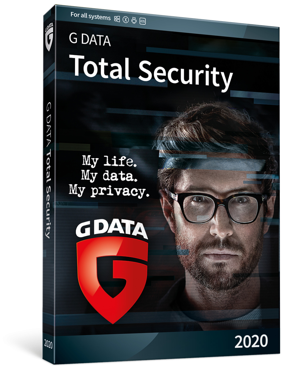 Antivirus G DATA 2020 Total Security Multidevice 24 luni 8 dispozitive imagine