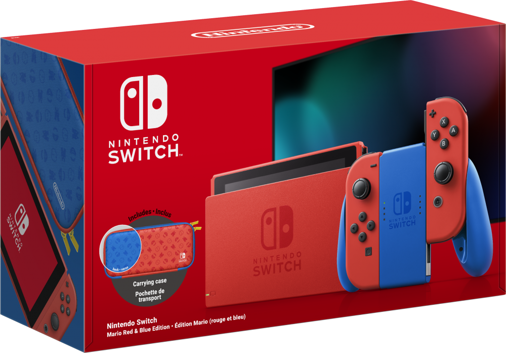 Consola Nintendo Switch Mario Red & Blue Editie Speciala imagine