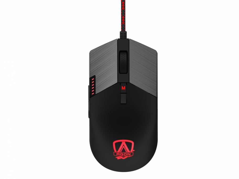 Mouse Gaming AOC AGM700 1600dpi negru imagine