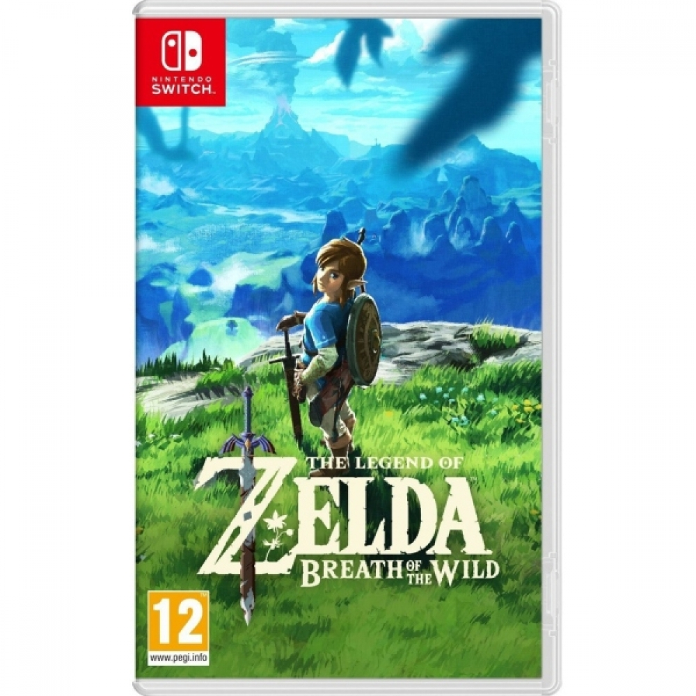 Joc The Legend Of Zelda Breath Of The Wild pentru Nintendo Switch imagine