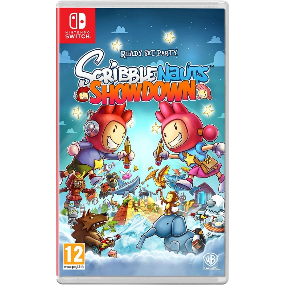 Joc Scribblenauts Showdown pentru Nintendo Switch imagine